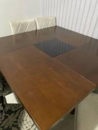 Mesa para 8 lugares + 6 cadeiras