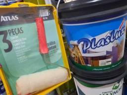 Combo ( 1 tinta 16L uso interno e externo + 1 kit pintura) na Cuiabá tintas