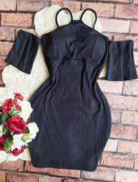 Vendo vestido canelado