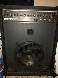 Caixa amplificadora wattsom pop line 300