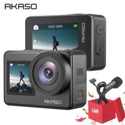 Câmera Akaso Brave 7 4k C/ Microfone A P/ Entrega Lançamento