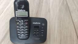 Telefone intelbras com secretaria eletronica