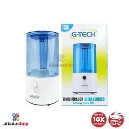 Umidificador de Ar Ultrassônico 3L G-Tech - Allergy Free HM