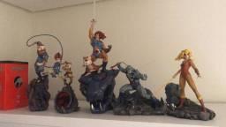 Título do anúncio: Set completo thundercats Iron Studios