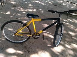 Bicicleta aro 21 Sem marcha como nova, menos de 6 meses de uso