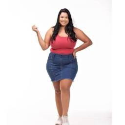 Camisa Camiseta Blusa Feminina Nadador Plus Size Suede Summer