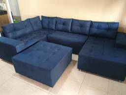 Lindo sofá de canto super confortável