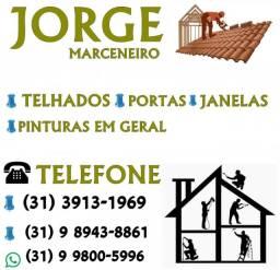 Marido de aluguel, telhados, portas