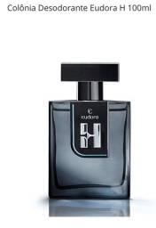 Título do anúncio: Eudora H Colônia Desodorante 100ml Masculino de Eudora Nova na Caixa Lacrada