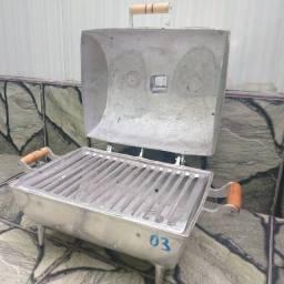 Churrasqueira Bafo em alumínio fundido