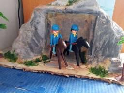 Playmobil anos 80 cavalaria União