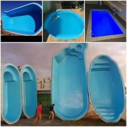 Título do anúncio: Piscina piscina e fibra, vários modelos menor preço!