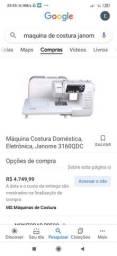 Máquina de costura Janome 3160