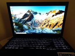 Notebook Vaio Processador Intel i7 com placa de video dedicada e teclado luminoso!