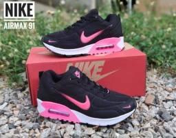 Tenis (Leia a Descrição) Nike Air Max 91 Várias Cores Novo