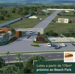 Título do anúncio: Lotes em condomínio fechado a partir de 176 m2 , Próximo ao Beach Park , em AQUIRAZ-CE