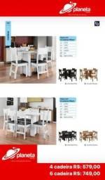 mesa 6/cadeiras