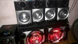 Mini system lg cm9520 metal bass