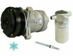 Compressor Behr Harrison+filtro+válvula Silverado 6cc Diesel