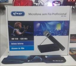 Microfone sem fio proficional kp 910