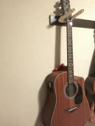 Violão hofman 250 folk top sómente venda só venda