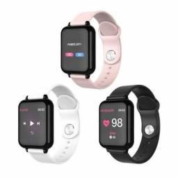 Relógio Smart Watch Inteligente Fit Presão Arterial , batimento a pronta entrega