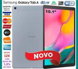 """Galaxy Tab A T515 32GB Octa Core, Tela 10.1"""", Wi-Fi+4G, GPS, Novo, Caixa, Gar, NF, Troco"""