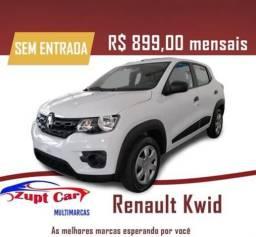 Título do anúncio: Renault Kwid Zen Completo Zero entrada oportunidade