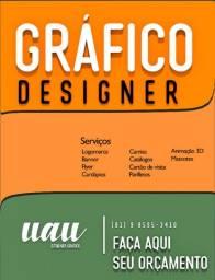 Serviço de designer Gráfico