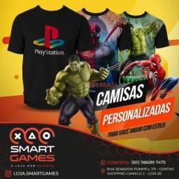 Blusas Personalizadas - Smart Games