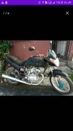 Moto estrada com moto da mix 150