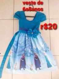 Vestido 6a8anos