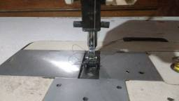 Máquina de costura industrial duas agulhas