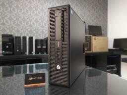Pc HP Prodesk i5 8GB de Memória 500GB de HD - Nota Fiscal e Garantia de 6 Meses