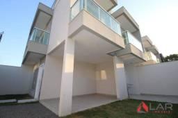Casa duplex, esquina, 3 quartos com suíte em Colina de Laranjeiras na Serra