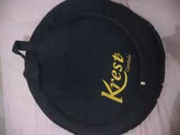 Bag acolchoada para pratos de bateria