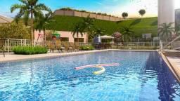 Apartamento em camaragibe excelente localização, 2 quartos area de lazer(gm)
