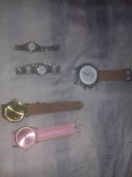 Lote 6 Relógios femininos novos