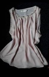 Blusinha cor rosa tamanho m