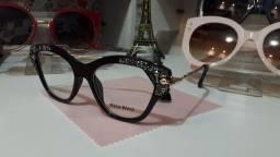Belos óculos feminino de descanso ou para por lente de grau de grau!