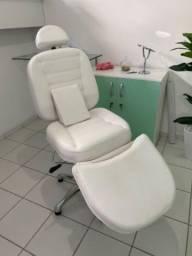 Cadeira reclinável para micropigmentação