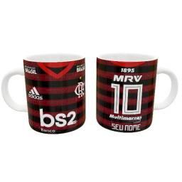 Caneca Flamengo Times 325ml #. Ytoch Rtzas
