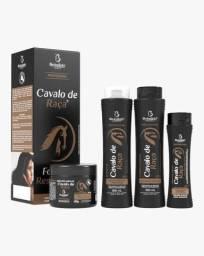 Kit Capilar Profissional Cavalo de Raça 4 itens Bio Instinto