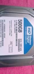 HD 500 GB WD R$ 80,00