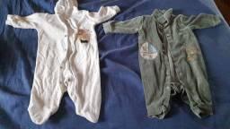 Lote roupas de bebe