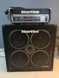 Cabeçote Hartke Ha3500 + Caixa Hartke Vx410