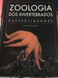 Livro de Zoologia dos invertebrados