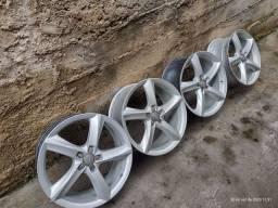 Jogo de rodas aro 19 Audi.