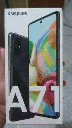 Samsung A71 novo na caixa
