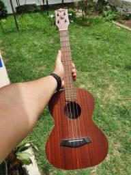Ukulele tenor tagima 27k Acústico madeira Mahogany<br>com capa <br>